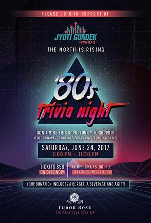80s poster design